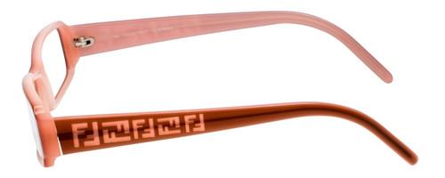 Fendi Designer Eyeglasses F664-255 in Pale Pink 53mm :: Progressive