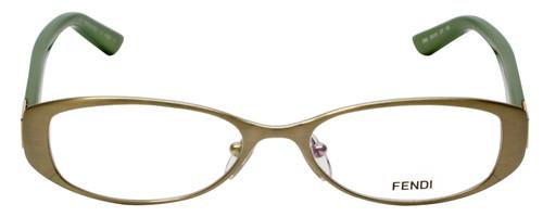 Fendi Designer Eyeglasses F899-317 in Matte Green 50mm :: Rx Bi-Focal