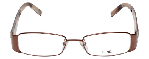 Fendi Designer Reading Glasses F892-212 in Bronze 52mm