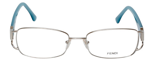 Fendi Designer Reading Glasses F848R-028 in Blue Jean 54mm