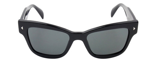 Prada SPR29R-1AB1A1 Designer Sunglasses in Black with Grey Lens