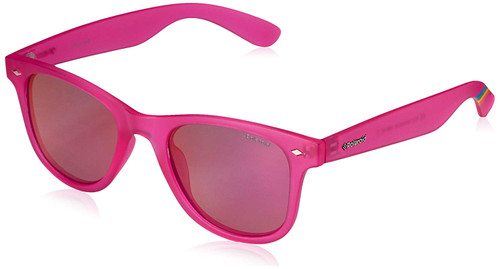 Polaroid Designer Polarized Sunglasses PLD6009-0IMS in Pink with Pink Mirror Lens