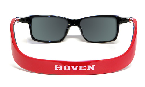 Hoven Eyewear MONIX in Black / Red with Gloss Grey