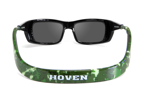 Hoven Eyewear Meal Ticket in Black Red