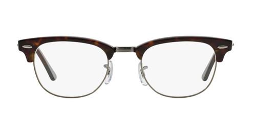 Ray Ban Designer Prescription Eyeglasses RX5154-2012 Havana/Silver 51mm Rx Single Vision