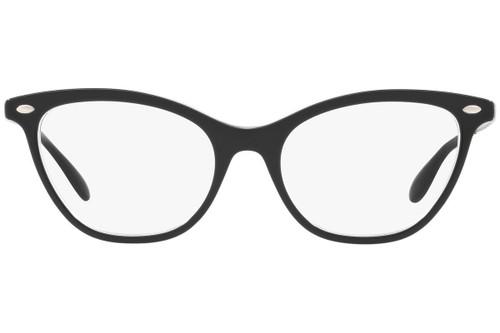 Ray Ban Designer Prescription Eyeglasses RX5360-2034 Black/Transparent 54mm Rx Single Vision