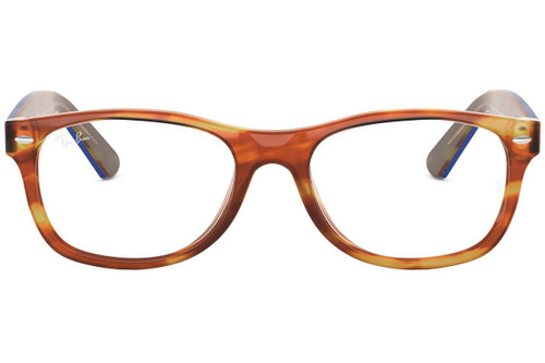 Ray Ban Prescription Eyeglasses RX5184-5799-50 Light Brown Havana 50mm Progressive Lens