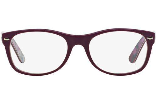 Ray Ban Prescription Eyeglasses RX5184-5408 Purple 50mm Progressive Lens