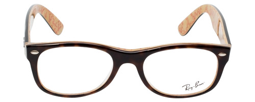 Ray Ban Designer Prescription Eyeglasses RX5184-5057 Tortoise/Beige 50mm Rx Bi-Focal