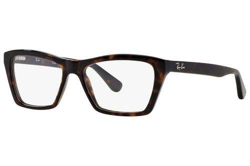 Ray Ban Designer Reading Eye Glasses RX5316-2012 Dark Havana 53mm