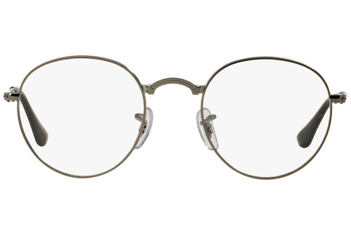 Ray Ban Folding Eyeglasses RX3532V-2502-47 Gunmetal 47mm Custom Left&Right Lens