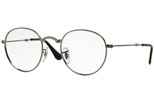 Ray Ban Designer Folding Eyeglasses RX3532V-2502-47 Gunmetal 47mm Rx Single Vision