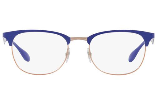 Ray Ban Prescription Eyeglasses RX6346-2972-50 Copper/Violet 50mm Progressive Lens