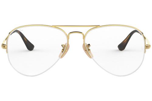 Ray Ban Designer  Reading Eye Glasses RX6589-2500 Gold 59mm