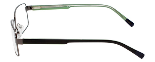 Gant Prescription Eyeglasses GA3102 Gunmetal/Black Green 58mm Rx Single Vision