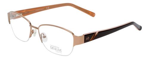 Catherine Deneuve Prescription Eyeglasses Gold CD0406 54 mm Rx Single Vision
