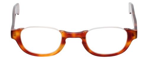 EyeBobs Fish Bowl Designer Reading Eye Glasses 2134-T6 in Tortoise 44mm