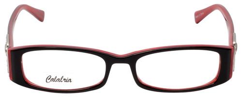 Calabria Designer Eyeglasses 814 Ebony w/ Blue Light Filter + A/R Lenses