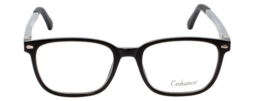 Enhance Kids Prescription Eyeglasses EN4118 48 mm Glossy Matte Black/Grey Custom