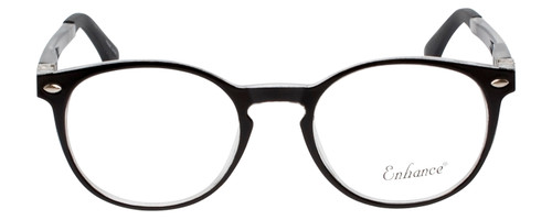Enhance Kids Prescription Glasses EN4119 46 mm Glossy Matte Black/Crystal Clear