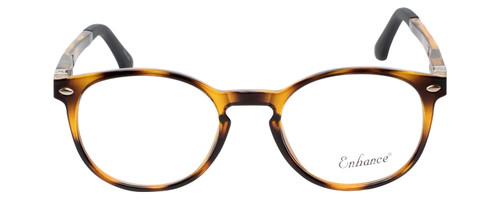 Enhance Kids Prescription Eyeglasses EN4119 46 mm Havana Tortoise/Matte Black Rx