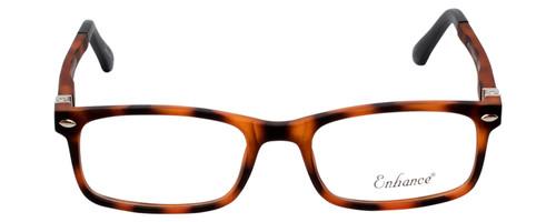 Enhance Kids Prescription Eyeglasses EN4121 47 mm Matte Havana Tortoise/Black Rx