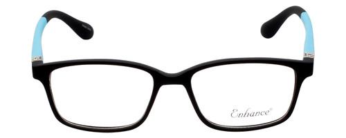 New York Eye Enhance Kids Designer Reading Glasses Matte Black/Blue EN4143 44 mm