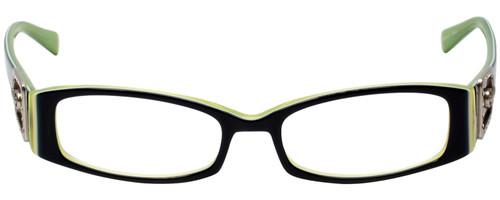 Calabria Designer Eyeglasses 814 Indigo w/ Blue Light Filter + A/R Lenses