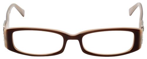 Calabria Designer Eyeglasses 814 Nutmeg w/ Blue Light Filter + A/R Lenses