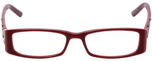 Calabria Designer Eyeglasses 815 Cabernet Blue Light Filter + A/R Lenses