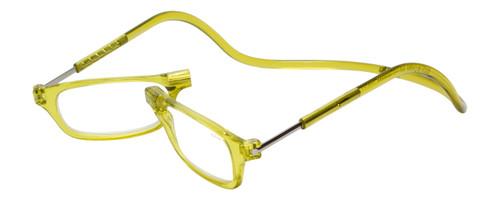 Clic Magnetic Eyewear Regular Fit Original Style in Lemon Lime :: Custom Left & Right Lens
