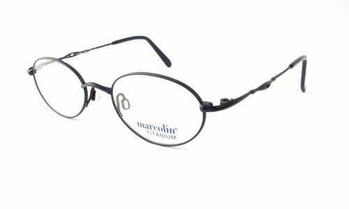 Marcolin Designer Eyeglasses 2030 in Blue 46mm :: Rx Single Vision