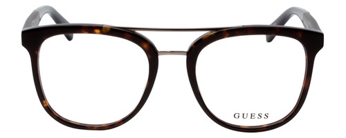 Guess Designer Eye Glasses in Dark Havana Tortoise/Black GU1953-052-51mm Rx Single Vision