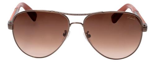 Lanvin Designer Sunglass Copper Bronze Snake Skin Brown Gradient SLN037V-448X-59