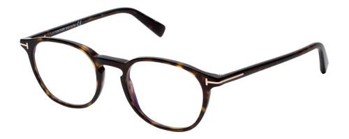 Tom Ford Designer Eyeglasses FT5583B-052 in Tortoise 50mm Rx Single Vision