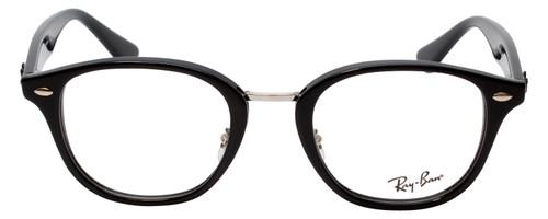 Ray Ban Prescription Eyeglasses RB5355-2000-48 mm Shiny Glossy Black Custom Lens