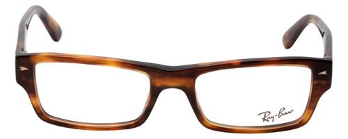 Ray Ban Prescription Eyeglasses RB5254-2144-52 mm Glossy Havana Tortoise/Silver
