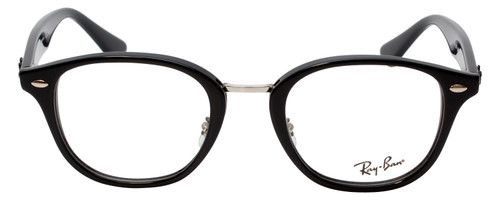 Ray Ban Prescription Eyeglasses RB5355-2000-48 mm Glossy Black Progressive Lens