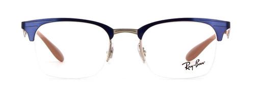 Ray Ban Prescription Eyeglasses RB6360-2918-49 mm Shiny Cobalt Blue/Glossy Brown