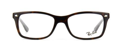 Ray Ban Prescription Eyeglasses RB5228-5545-50 mm Glossy Havana Tortoise/Brown