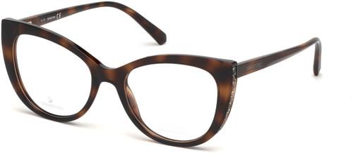 Swarovski Designer Reading Glasses in Dark Havana Tortoise Brown Gold Crystals