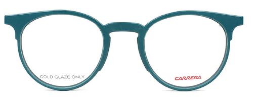 Carrera Designer Reading Glasses CA6665-0R4R in Petroleum Teal Green Navy Blue 47mm :: Progressive