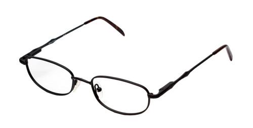 Reptile Designer Eyeglasses Monitor in Matte Black :: Custom Left & Right Lens