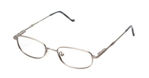 Reptile Designer Eyeglasses Monitor in Pewter :: Rx Bifocal