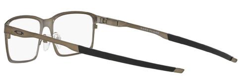 Oakley Designer Eyeglasses OX3232-0252 Base Plane Pewter 54mm :: Rx Single Vision