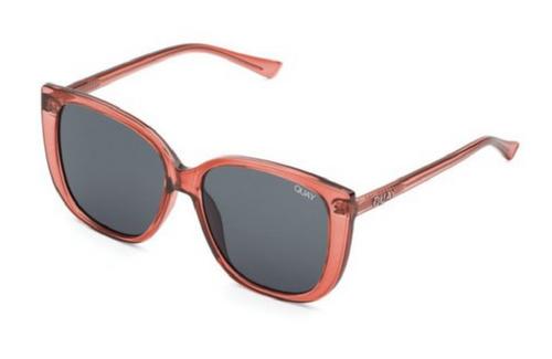 Quay Australia Ever After Designer Sunglasses Cinnamon /Non-polarized Smoke Lens 59mm