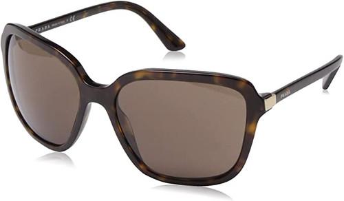 Prada Sport Sun Women's Designer Oversized Sunglasses Havana/Brown Lens 58mm
