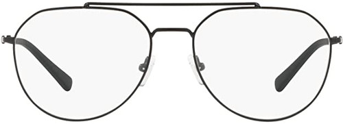 AX Armani Exchange AX1029 in Gunmetal Black Aviator Eyeglasses 57 mm Rx SV
