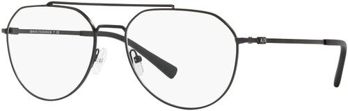 AX Armani Exchange AX1029 in Gunmetal Black Aviator Eyeglasses 57 mm Bi-Focal