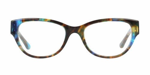 Tory Burch Designer Reading Eye Glasses in Blue Brown Tort VV-QA-TY2060-3145-50 mm